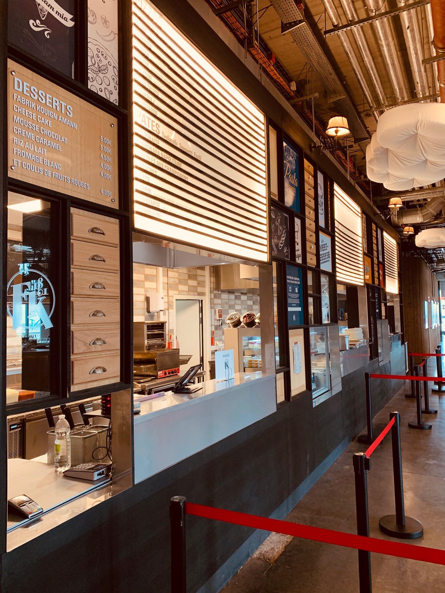 Fabrik 1801: food court